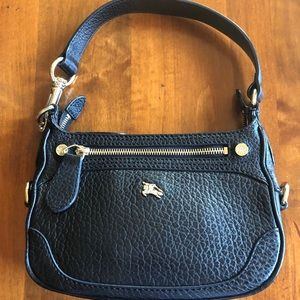 Authentic leather Burberry Shoulder bag